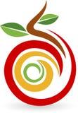 Fruktlogo Arkivfoto