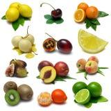 fruktmärkduk arkivfoto
