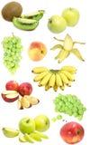 fruktmärkduk royaltyfria foton