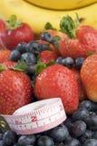 fruktmåttband arkivfoton