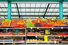 fruktmarknad Royaltyfri Foto