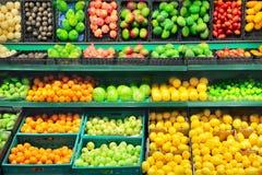 Fruktmarknad Royaltyfria Bilder
