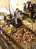 Fruktmarknad Arkivfoto