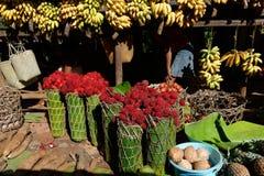Fruktmarknad Royaltyfria Foton