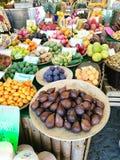 Fruktmarknad i Tyskland Arkivbilder
