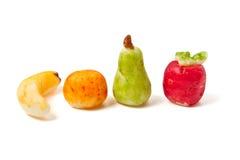 fruktmarsipaner Arkivbild