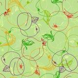 fruktmodellvektor stock illustrationer