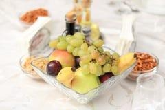Fruktplatå arkivbild