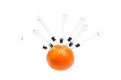 fruktprovning Arkivfoto