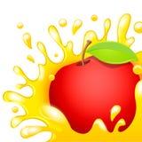 Fruktsaftäpple Royaltyfria Foton