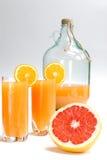 fruktsaft Fotografering för Bildbyråer