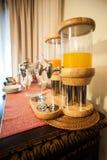 Fruktsaft för frukost Royaltyfri Fotografi