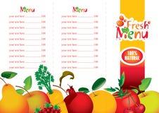 Fruktsaft och nytt Arkivbild