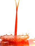 fruktsaftfärgstänk Royaltyfri Bild