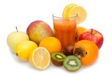 fruktsaftmultivitamin fotografering för bildbyråer