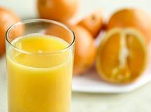 fruktsaftorange Arkivbild