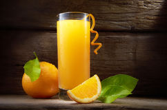 fruktsaftorange Arkivfoto