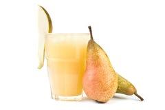 fruktsaftpear Arkivbild