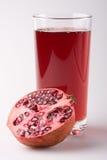 fruktsaftpomegranate royaltyfria bilder