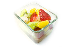 Fruktsallad, sund livsstil Royaltyfri Foto