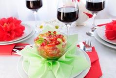fruktsalladgrönsak Royaltyfri Bild