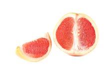 Fruktsammansättning av den mogna grapefrukten Royaltyfri Fotografi
