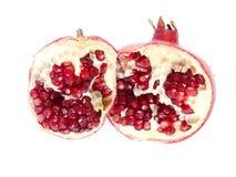 Fruktsammansättning av granatäpplet Arkivbild