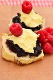 Fruktscones Fotografering för Bildbyråer