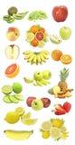 fruktset Royaltyfri Foto
