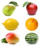 fruktset Royaltyfri Fotografi