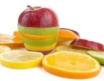 fruktskivor Arkivbilder