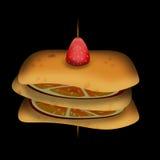 Fruktsmörgås Royaltyfri Fotografi