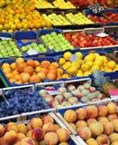 Fruktställning Arkivfoto