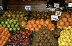 Fruktställning Fotografering för Bildbyråer