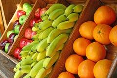 fruktstand Royaltyfri Foto
