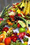 fruktstycke Arkivbild