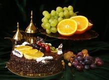 fruktstycke Royaltyfri Bild