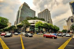 fruktträdgårdväg singapore Royaltyfri Foto