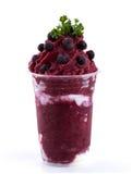 Frullati di Mixberry Immagini Stock Libere da Diritti