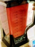 Frullato del mirtillo rosso fotografia stock libera da diritti