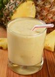 Frullato dell'ananas Immagine Stock