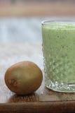 Frullato della verdura e della frutta Fotografie Stock