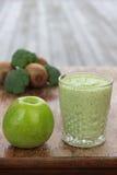 Frullato della verdura e della frutta Immagini Stock