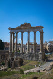 Fórum imperial, Roma, Italy Foto de Stock
