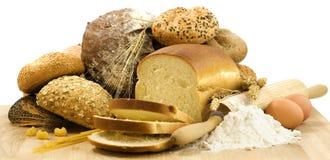 Frumento e pane Fotografia Stock