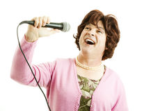 Frumpy Singer Belts One Out Stock Images