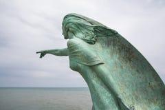 Frun av fiskaren Fotografering för Bildbyråer