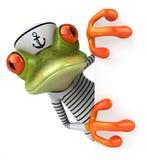 Frun frog Stock Image