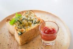 Frunchrostat brödägg Royaltyfria Bilder
