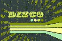 Frunge disco background Stock Images